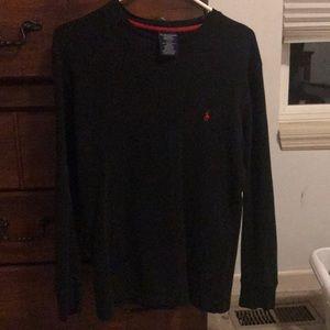Black Polo Ralph Lauren Sleepwear Long Sleeve